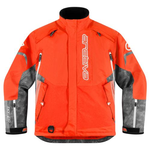 Arctiva Comp 8 RR Snowmobile Shell Jacket Orange MD