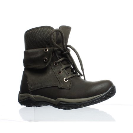 Columbia Womens City Side Fold Cordovan/Mud Snow Boots Size - Columbia Party City