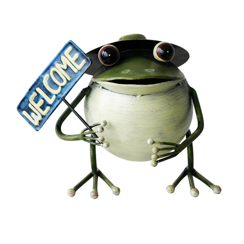 Mainstays Iron Frog Statue