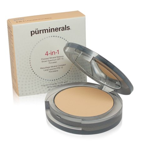 PR  4-In-1 Pressed Mineral Makeup - Blush Medium 0.28 Ounce