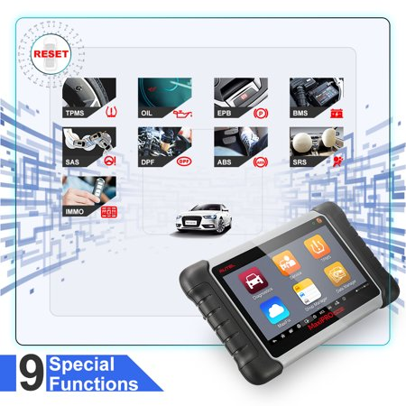 Autel MaxiPRO MP808TS (DS808+TPMS) OBD2 Scanner Car Diagnostic Tool  Complete TPMS Programming Sensor and ABS/SRS/EPB/Oil Reset/SAS/DPF with  WiFi and