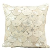 Mina Victory Metallic Balloons Throw Pillow