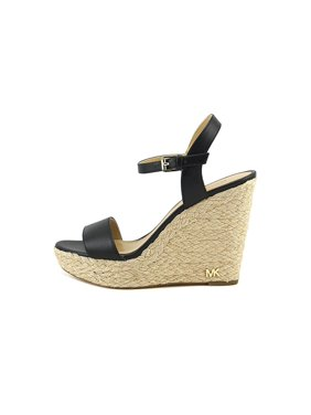 dcd26198bd8 Product Image Womens Jill Leather Open Toe Casual Espadrille Sandals. Michael  Kors