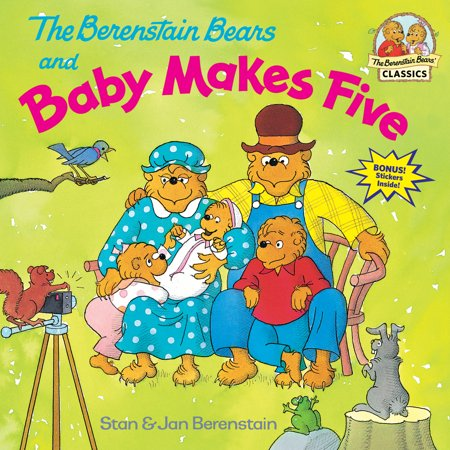 (The Berenstain Bears and Baby Makes Five (Paperback))