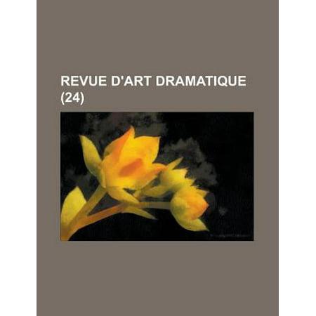 Revue d 39 art dramatique 24 for Art dramatique