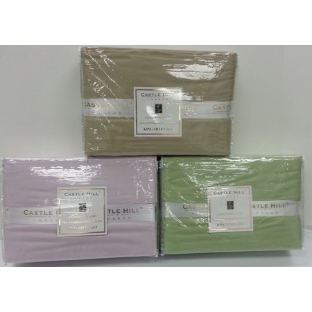 White Horse Hills - Luxury Castle Hill 310 Thread Count Solid Cotton Sheet Set