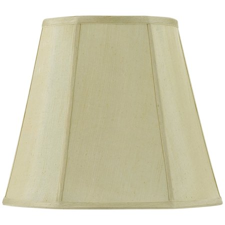 Lighting SH-8107/16-CM Verti Piped Deep Empire Shade with 16-Inch Bottom, Champagne By -