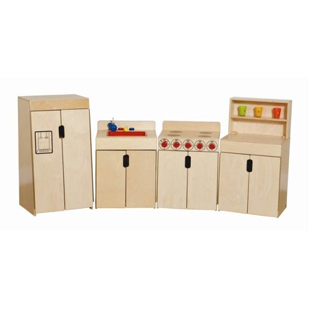 Kid's Play 4 Pc Tip-Me-Not Deluxe Appliance -