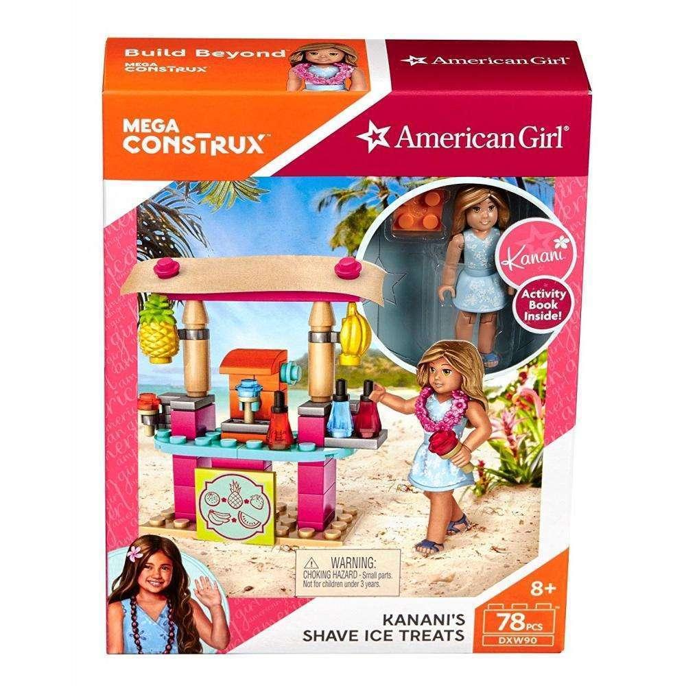 Mega Construx American Girl Kanani's Shave Ice Treats by Mattel