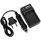 - Maximal Power FC500 PAN DMW_BCN10 Wall_Car_USB Camera Battery Charger (Black)