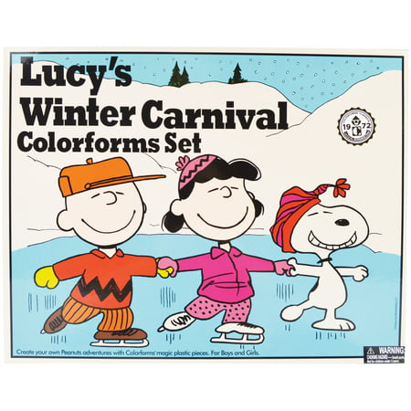 Colorforms(R) Classic Re-Stickerable Sticker Set-Lucy's Winter Carnival](Preschool Winter Crafts)