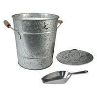 Outdoors Unlimited 10372 Oasis Galvanized Ice Bucket
