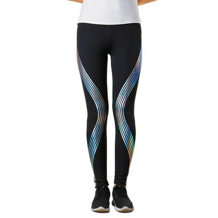 e9981db773073 LANBOWO - Women's Rainbow Reflective Leggings Gym Fitness Yoga Pants  Sportswear Glow Casual New - Walmart.com