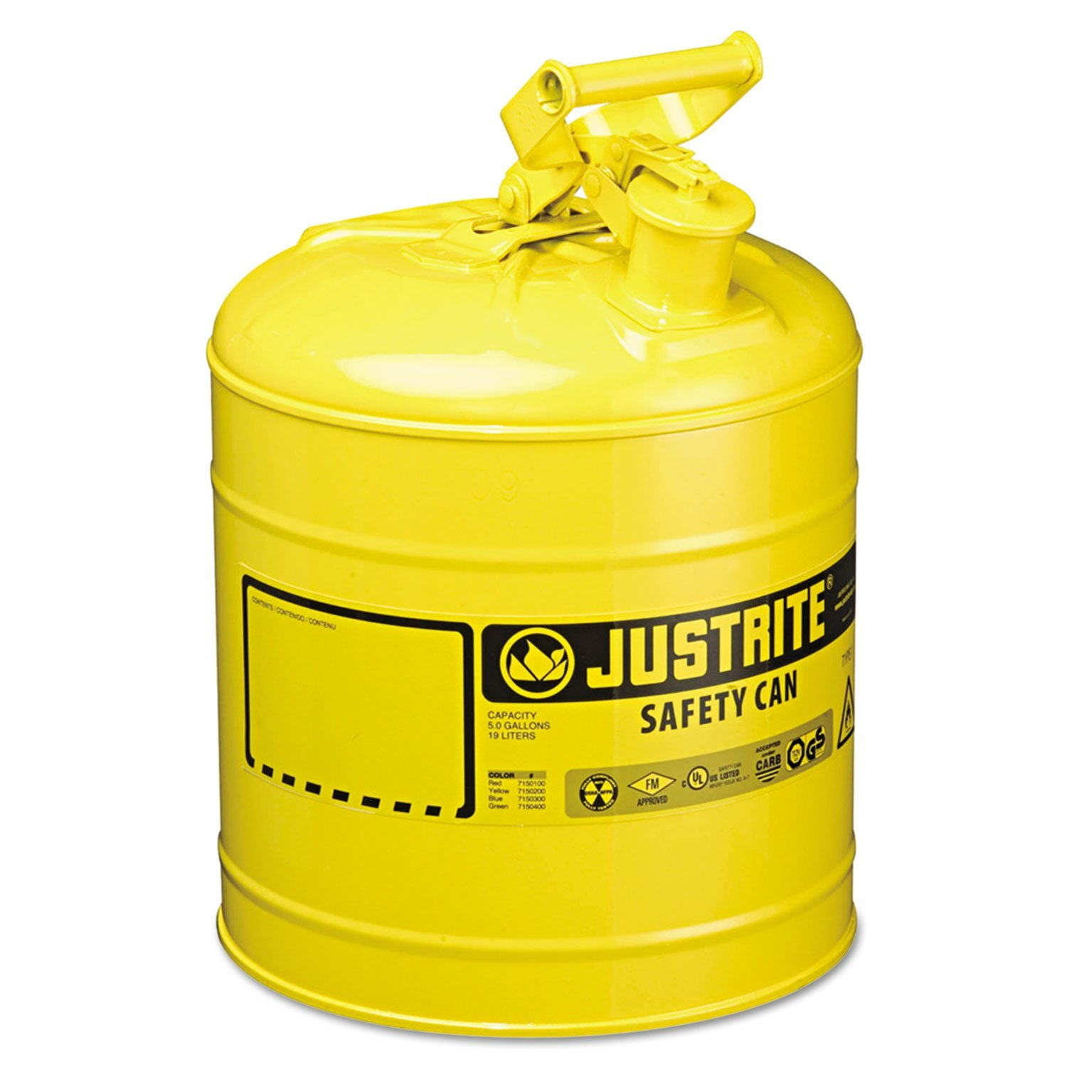 JUS7150200 - Safety Can, Manufacturer: Justrite By Justrite