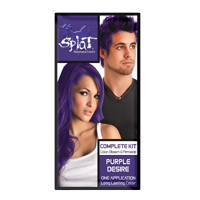 Splat Complete Kit, Semi-Permanent Hair Dye with Bleach