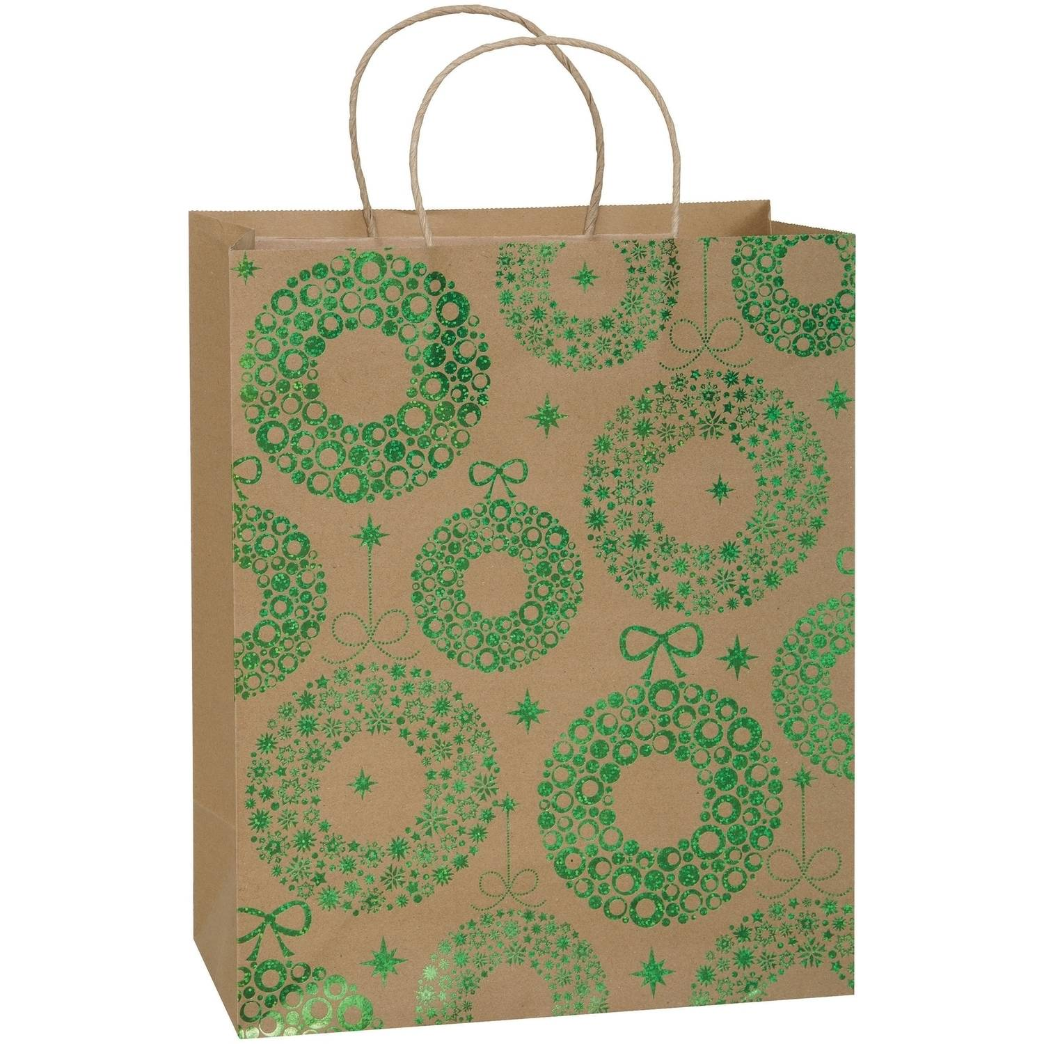 Large Woodland Christmas Gift Bag Walmart Com