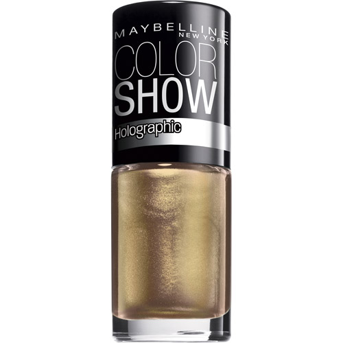Maybelline Color Show Holographic Nail Lacquer, 0.23 fl oz, Alluring Rose