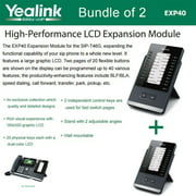 Yealink EXP40 2-PACK LCD Expansion Module for T46G, T48G, T46S, T48S