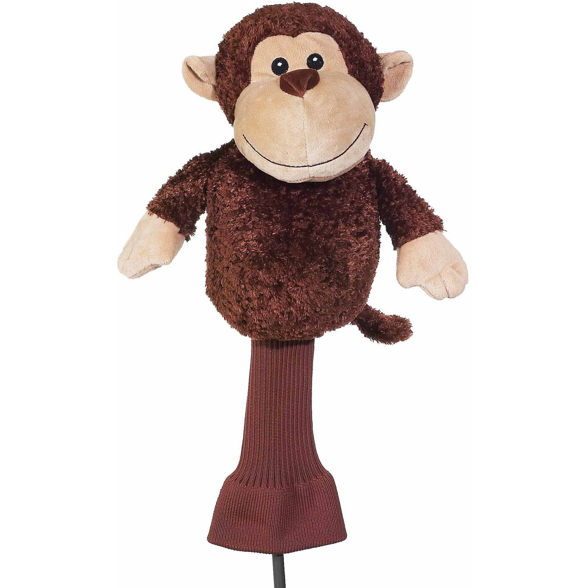 "Creative Covers For Golf Cuddle Pals ""Mulligan"" The Monkey Driver Headcover"
