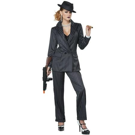 Ms. Mobster Adult Costume - Mobster Costume