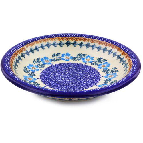 Polmedia 9'' Polish Pottery Pasta Bowl by Ceramika Bona