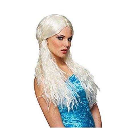 Womens Barbarian Bride Wig, (Evil Bride Adult Women's Wig)