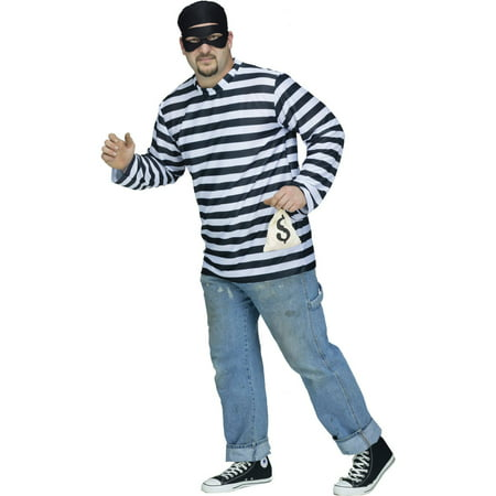 Burglar Men's Adult Halloween Costume](Burglar Couple Costume)