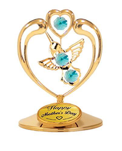 Mascot Happy Mother's Day - Hummingbird in Heart Table De...