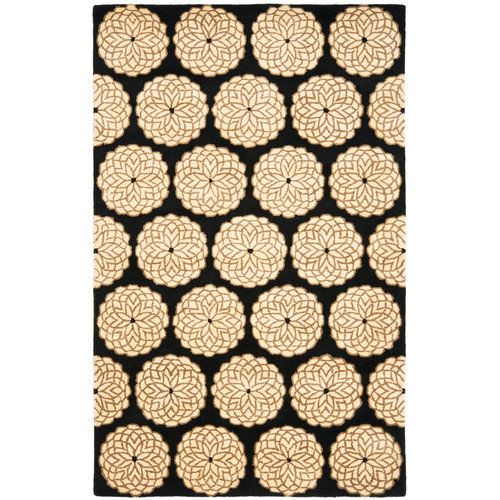 Safavieh Rodeo Drive Black/Ivory Area Rug