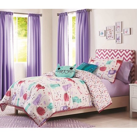 Better Homes And Gardens Here Kitty Kitty Comforter
