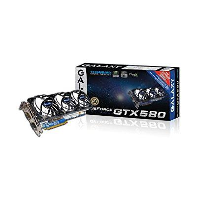 Galaxy geforce gtx 580 1536 mb gddr5 pci express 2.0 dvi/...