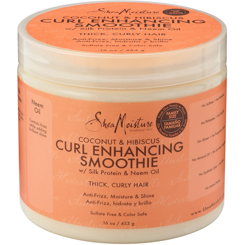 SheaMoisture Coconut & Hibiscus Curl Enhancing Smoothie, 16 oz
