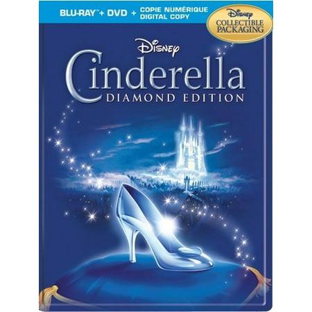 Cinderella Diamond Edition Steelbook (Blu-ray + DVD + Digital Copy)