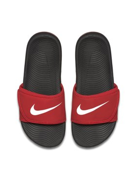 183d7a430d78b8 Product Image Nike Boy s Slide Kawa Adjust (GS PS) Black White. Product  Variants Selector. University Red White