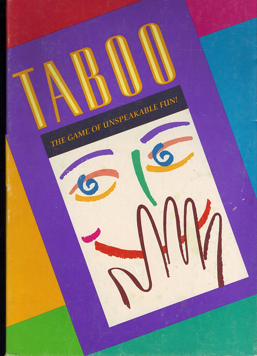 1989 Taboo the Game of Unspeakable Fun, How do you get your team to say... Diamond ? If you can't... by