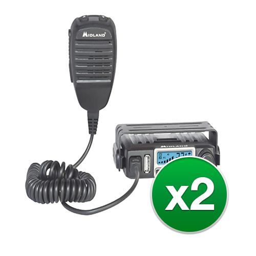 Midland MXT115 2-Pack Two Way Radio