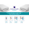 Signature Sleep Essential - 6 inch White Coil Mattress, Multiple Sizes