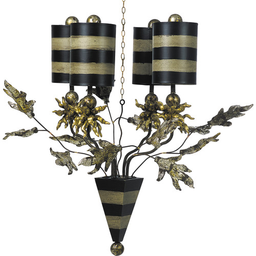 Flambeau Lighting Audubon 4 Light Chandelier