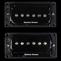 SEYMOUR DUNCAN P-Rails w/ ARCHED (LP) Triple Shot Mounting Rings