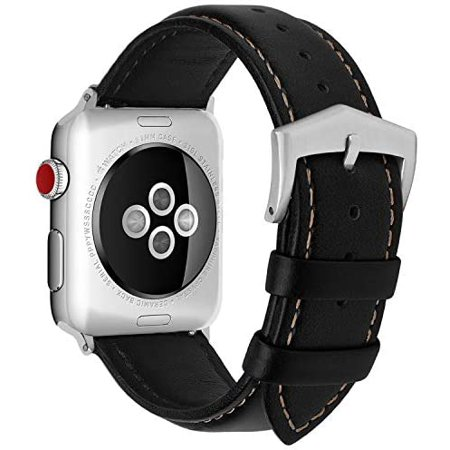 Compatible for Apple Watch Band 38mm 42mm 40mm 44mm, Fullmosa Labu Leather Apple Watch Band/Strap for iWatch Series - image 5 of 5