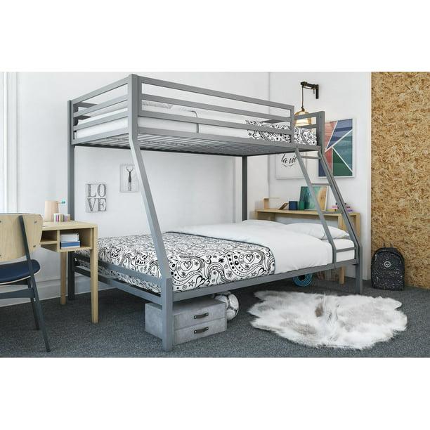 Mainstays Premium Twin Over Full Bunk Bed Multiple Colors Walmart Com Walmart Com