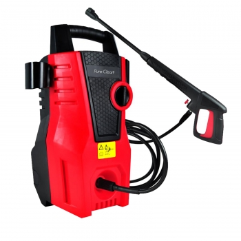 Pure Clean Compact Pressure Washer - Electric Outdoor Power Washer