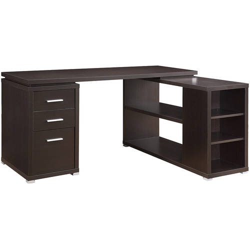 Coaster Yvette Collection L Shaped Reversible Desk