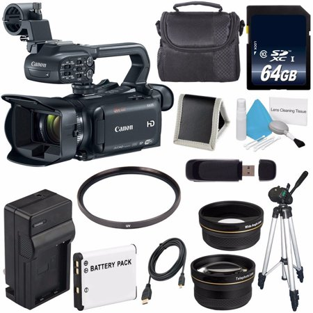 Canon XA35 Professional Camcorder (International Model ) + 64GB SDXC Class 10 Memory Card