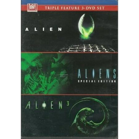 Alien / Aliens / Alien 3 Triple Feature 3 DVD (Alien Gift Set)