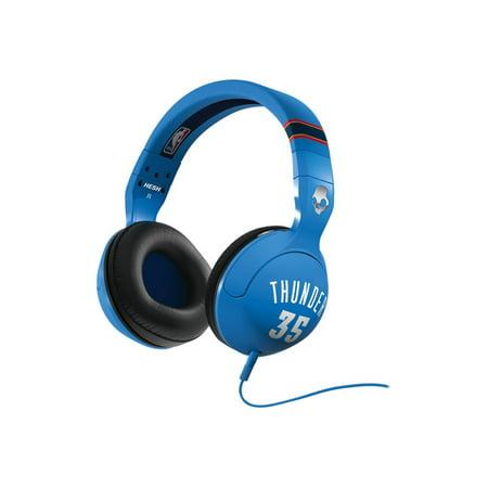 Skullcandy HESH 2 Thunder - NBA Series - headset - full size - wired Skullcandy Silver Headphone