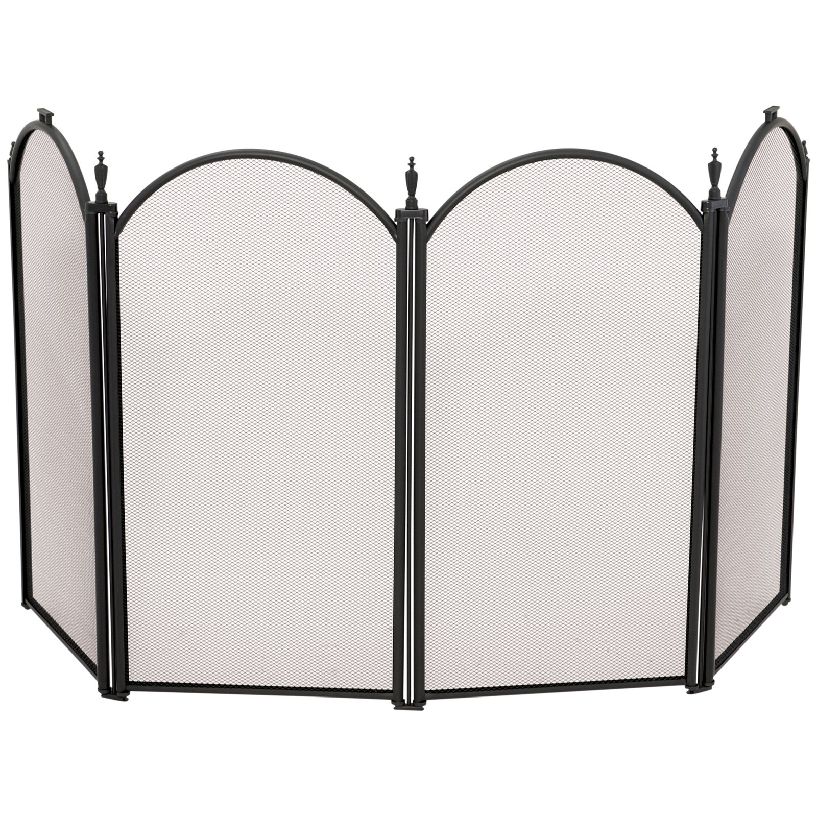 Uniflame 4 Panel Mini Fireplace Screen Walmartcom