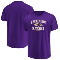 Men's Majestic Purple Baltimore Ravens Greatness T-Shirt