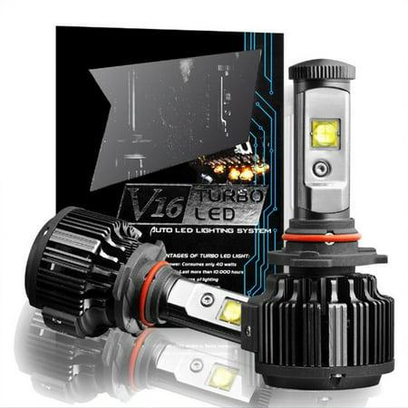 1 Pair K7 H11 LED Headlight Kit 7200Lm 6000K Low Beam Fog Bulb 1 Pair - Cool White