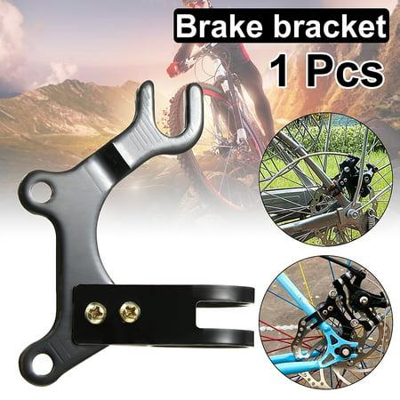 Bike Bicycle Cycling Disc Brake Mounting Holder Metal Bracket Frame Adaptor for 160mm Rotor